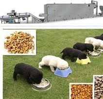 小型狗粮膨化机生产线