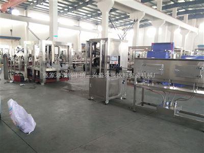 CGF小型矿泉水三合一灌装机 全自动生产线
