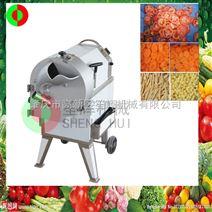 廠家直銷瓜果切片絲丁自動切菜機