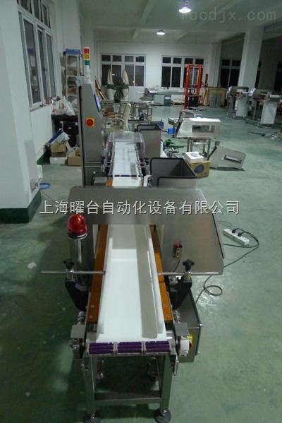 YD-600拨杆式剔除金属检测机
