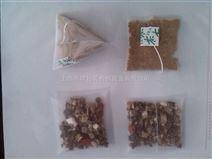 玫瑰配檸檬立體三角袋袋泡配方茶自動包裝機