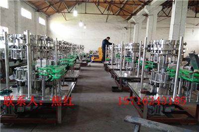 DGCF系列小型玻璃瓶汽水饮料生产线