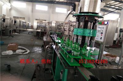 DGCF系列厂家生产玻璃瓶饮料灌装生产线