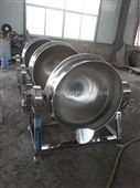 厂家直销立式手动搅拌燃汽夹层锅