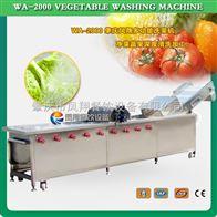 WA-2000洗菜机 蔬菜清洗机 果蔬清洗机 果蔬清洗风干线