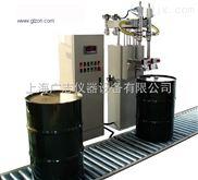 DF-300T-N2R-EX1-200L防爆灌裝機_樹脂全自動用200升灌裝機_上海廣志灌裝設備