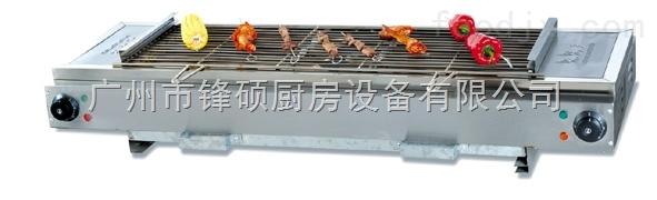 无烟不锈钢燃气烧烤炉