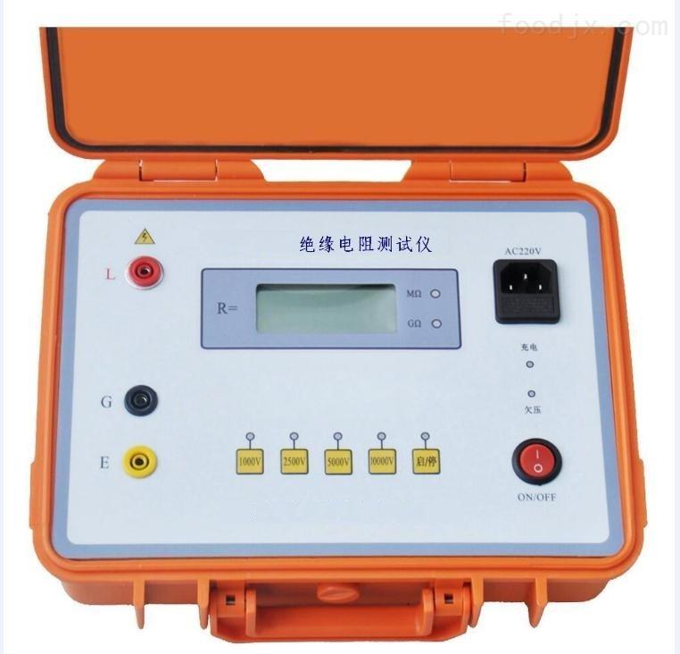 绝缘电阻测试仪接线