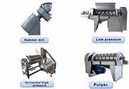 双螺旋压榨机适用于榨取鲜葡萄经破碎后汁液