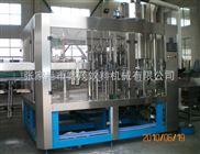 玻璃瓶芒果汁饮料热灌装三合一生产线