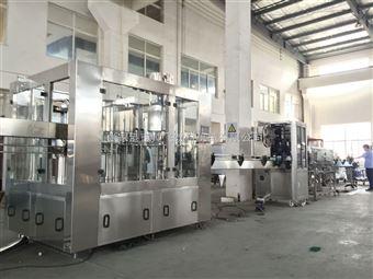 CGF多功能玻璃瓶果蔬汁灌装生产线