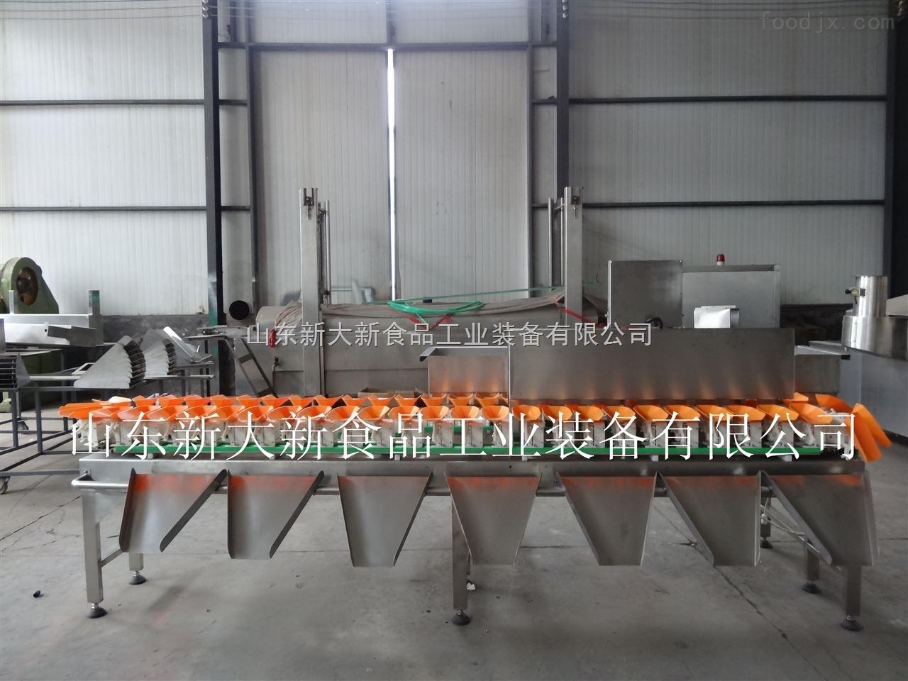 XCW-500廠家直銷雞鴨高精度重量分選機