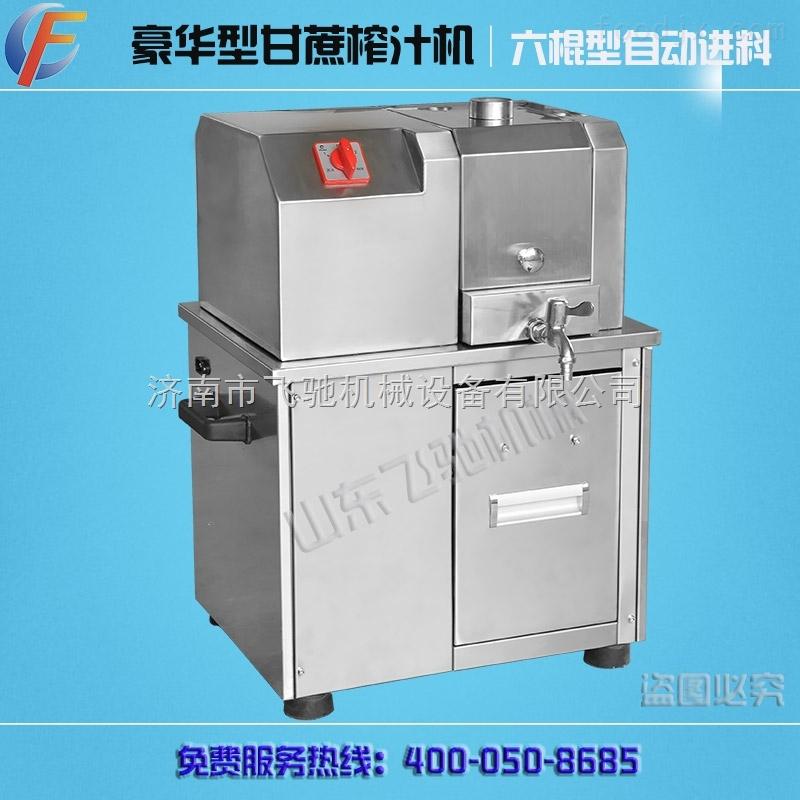 自动小型甘蔗榨汁机出汁率高