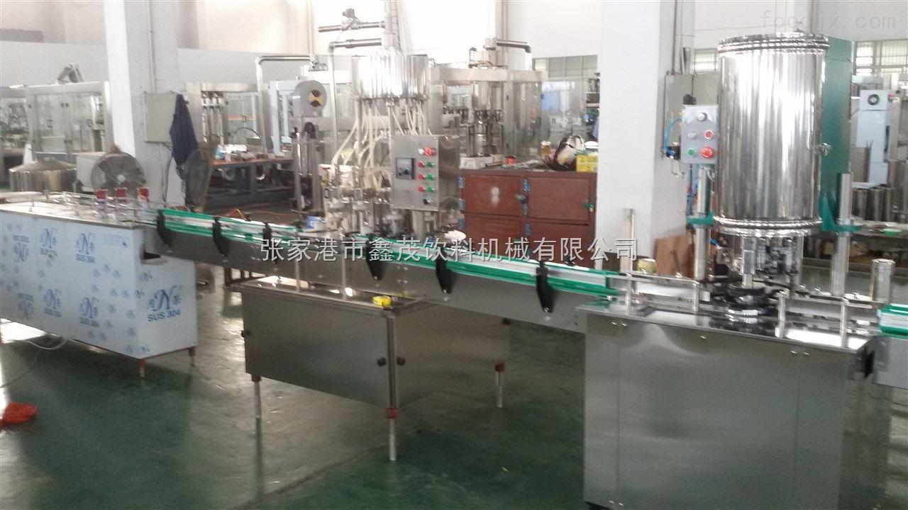易拉罐核桃奶饮料灌装生产线