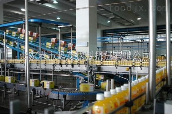 全自动果汁饮料机械、热灌装饮料机器、茶饮料生产线