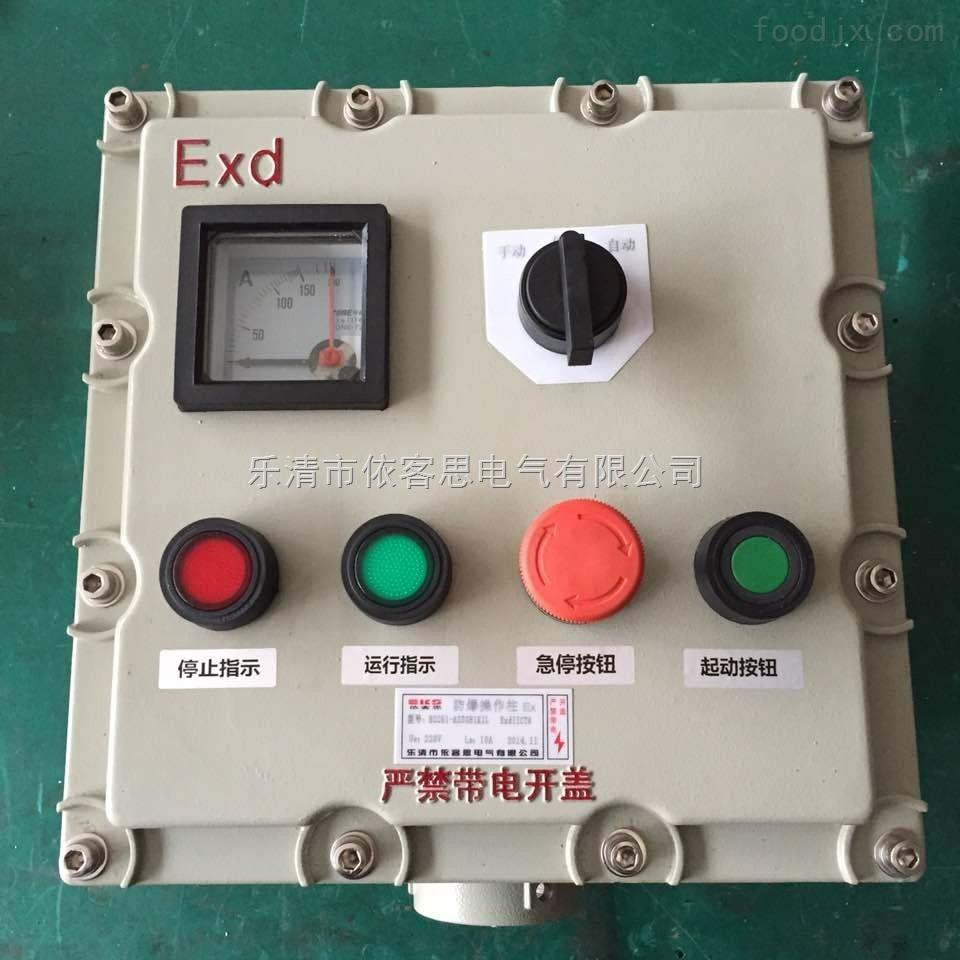 BZC53-A2D2B2L防爆操作柱 带转数表 立式防爆操作柱