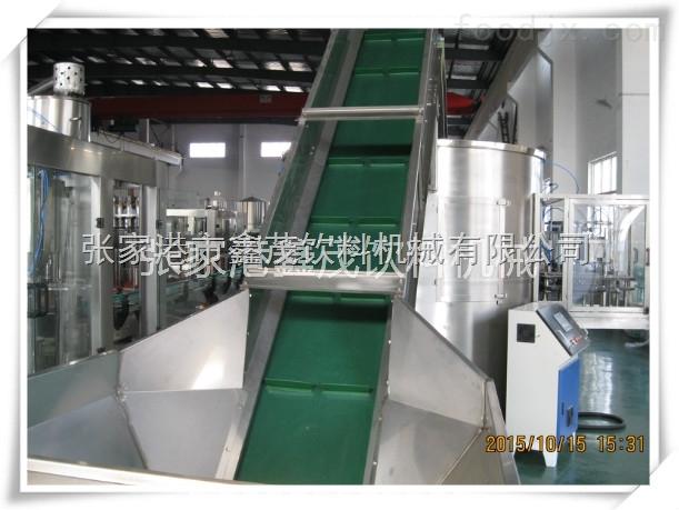饮料机械厂家矿泉水生产线果汁生产线自动理瓶机