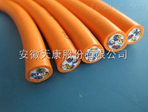 YGC-KHAF46R铜芯氟塑料绝缘硅橡胶护套控制软电缆
