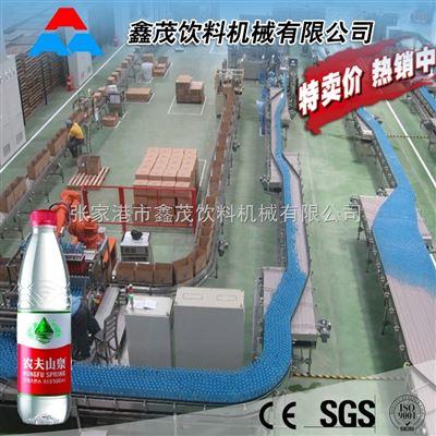农夫山泉矿泉水生产线 娃哈哈纯净水灌装生产设备 山泉水三合一灌装机制造厂家