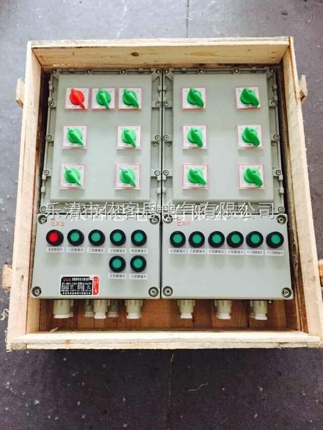 依客思专业订制BXM51-2/80kxx防爆照明配电箱