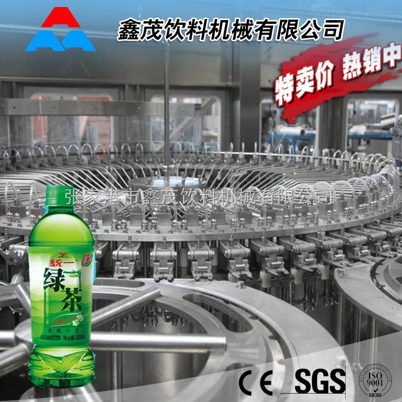 供应优质全自动果汁 果茶生产设备 茶饮料灌装机械 小型果汁生产线