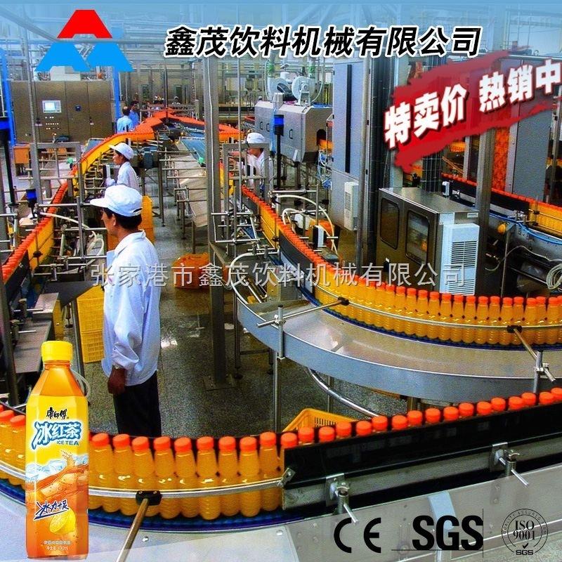 饮料生产线 果汁饮料灌装生产线设备多少钱 *茶饮料塑料瓶生产设备