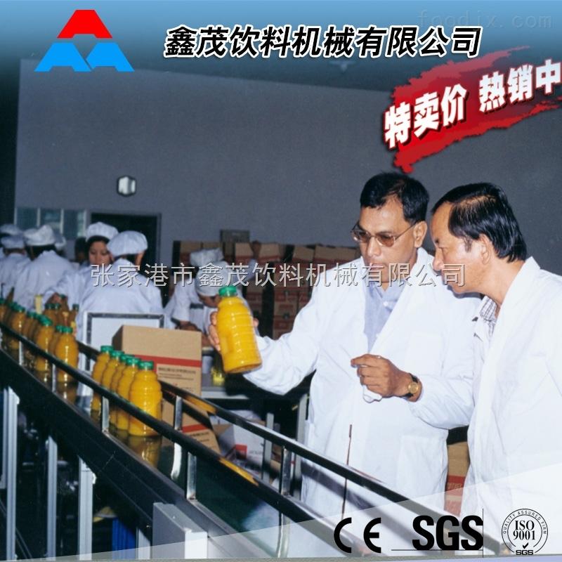功能性饮料灌装设备 玻璃瓶 易拉罐 PET瓶装功能性饮料生产线果汁三合一灌装机