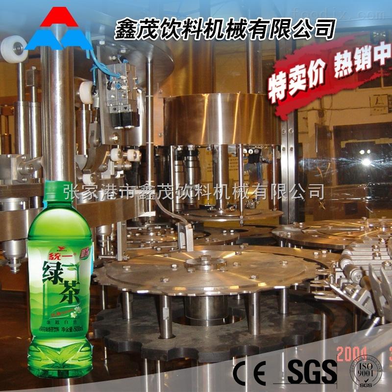 厂家供应塑料瓶塑料盖含果汁颗粒果汁饮料灌装机