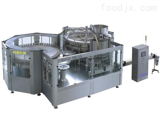DXGF冲瓶、灌装、封盖三合一体机组