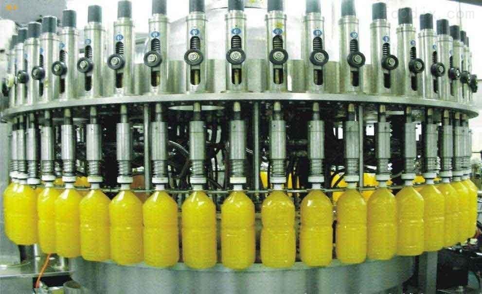 三合一小瓶果汁灌装机