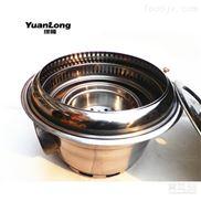 缘隆韩式烧烤设备商用下排烟碳烤炉烧烤炉烤肉炉不锈钢木炭烤肉机