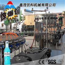 含气饮料生产设备全自动玻璃瓶饮料灌装生产线