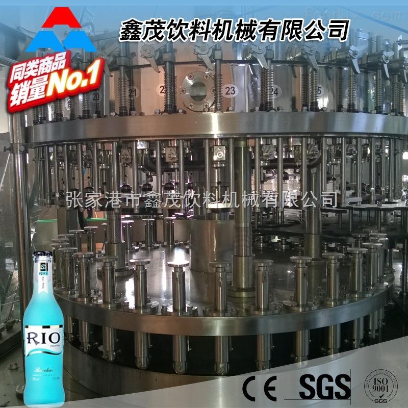 雪碧可乐灌装机设备 果酒鸡尾酒预调酒全套生产线