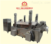BYYZ小型鸡块油炸生产线、电加热鸡排油炸机、鸡米花油炸机