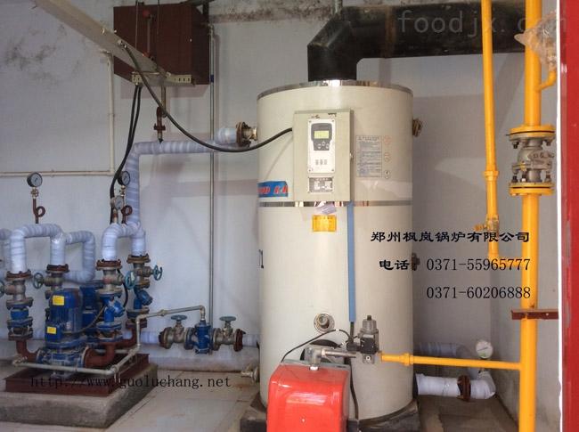 电加热蒸汽锅炉 该产品属立卧式大功率蒸汽锅炉,采用炉体电控制柜分离方式,避免了电器元件受热老化而影响使用寿命。电热管选用国内外优质产品、正常使用寿命约20000小时,热效率近99%,运行安静、清洁,符合环保的要求,不会向大气排放NOx(氮氧化合物)。运行采用PLC控制系统,全免操作钮、全免指示灯、触摸屏面板、中英文显示、人机对话、操作授权、实时信息、自动翻页。 所有电器元件具有CE和CCC论证标志以确保产品安全及使用寿命。 每组电热元件采用集中束型法兰连接,独 立设置,具有结构简单,机械强度高,安全可靠,