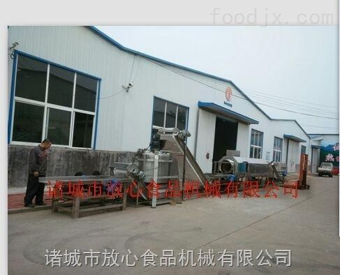 诸城放心机械酱黄瓜加工设备提供全套的生产设备