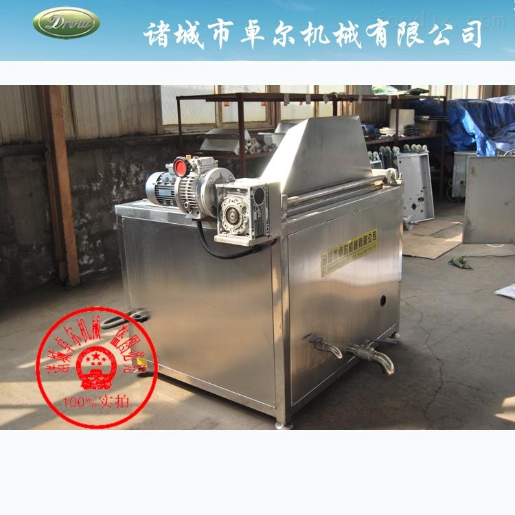 炸薯片电加热半自动油炸搅拌机_中国食品机械水发鱿鱼图片