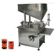 牛肉醬灌裝機 玻璃瓶裝 效率高 精度高不滴漏 帶攪拌