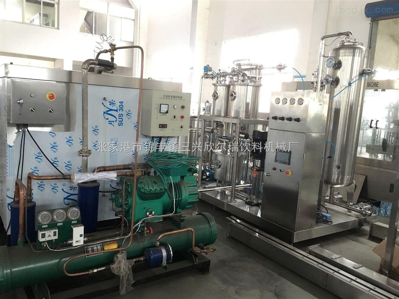 含气饮料灌装机生产设备