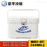 厂家直销臣平冷藏箱注塑工艺CP008便携式冷藏箱