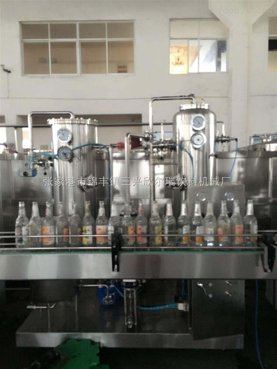 含气饮料灌装生产线设备