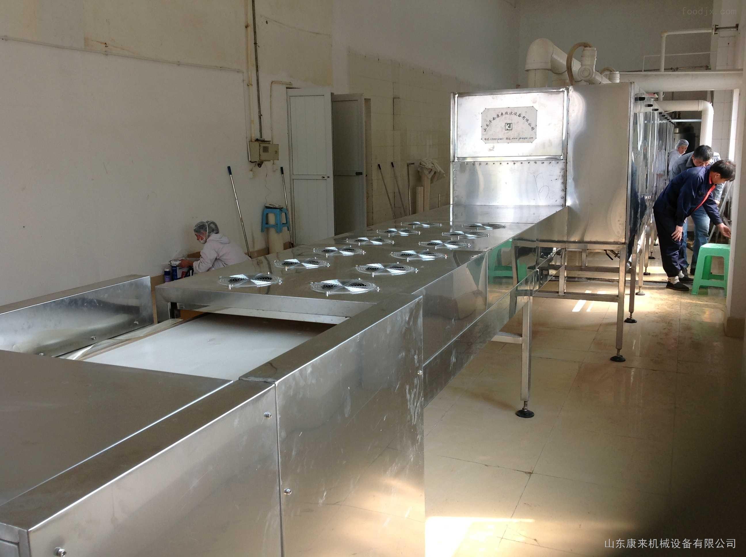 鸡精烘干隧道炉,新型鸡精隧道生产线设备