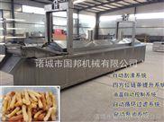 香辣江米条油炸机 江米条油炸生产线 全自动油炸生产线