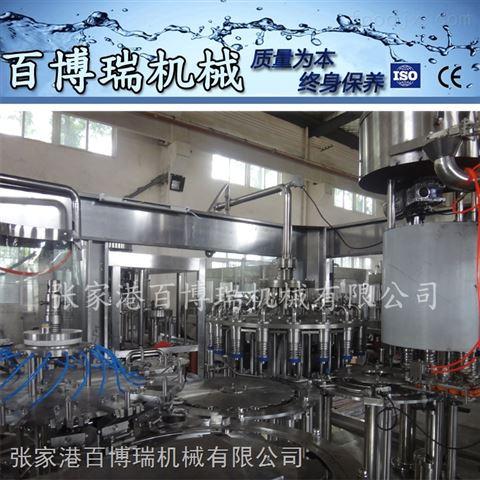 灌装机 玻璃瓶苹果醋饮料生产线 液体食品包装机饮料包装机BBR-2162价格
