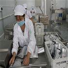 全自动摆臂蛤蜊肉真空包装机海产品包装机