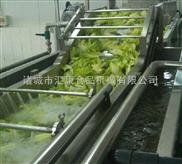 QX-3-生产辣椒清洗机 双层网带 变频调速