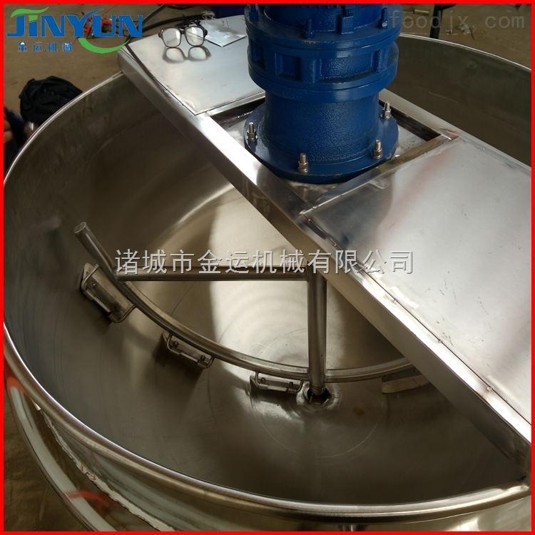 200L立式带搅拌夹层锅