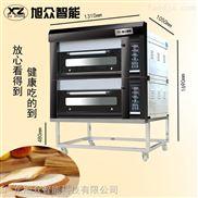 豪华专业电/燃气蛋糕面包烤炉微电脑烘焙箱