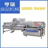 净菜设备 TS型卧式混流喷冲清洗机 中央厨房洗菜机 净菜加工生产线