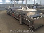 6000-鸡爪连续式漂烫设备 肉类预煮机 果蔬杀青机